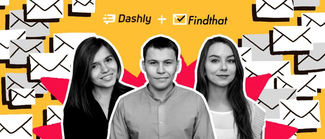 FindThat.Email + Dashly case study: pop-ups and live chat generated x3 leads in6months