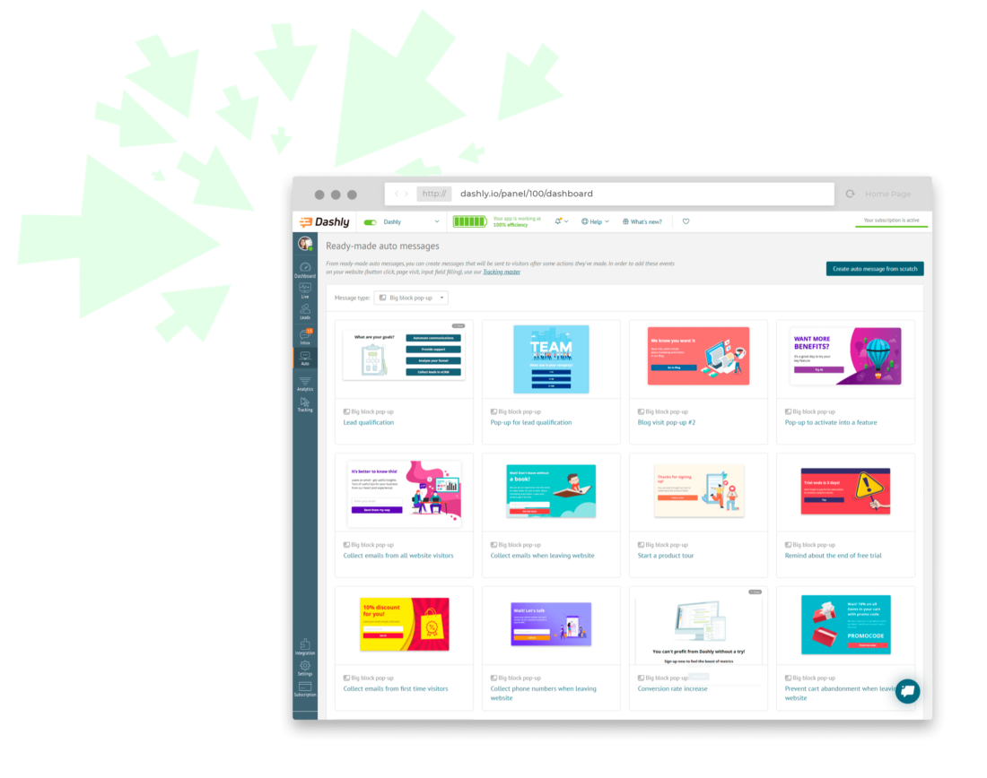 Ready-made auto messages: boost your funnel with our expertise