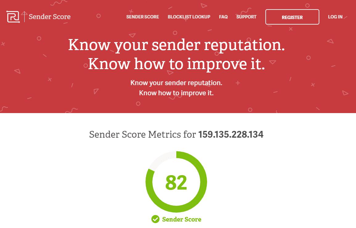 senderscore rate
