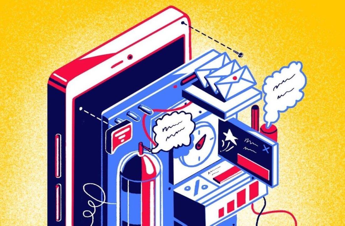 Marketing automation inside amobile application