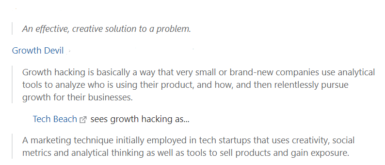 Growth hacking quotes