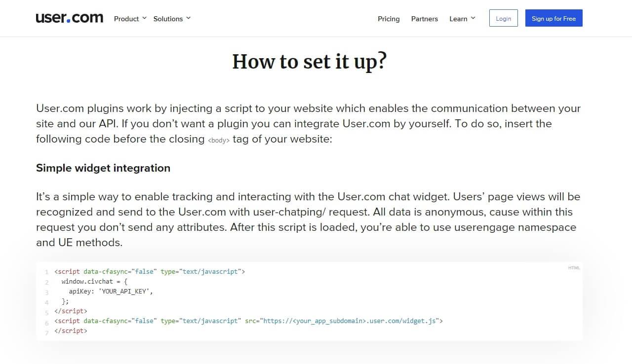 how to install user.com