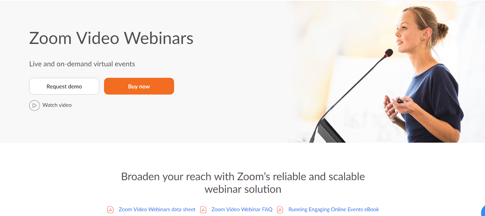 Video meetings solution in the list of your martech stack tools