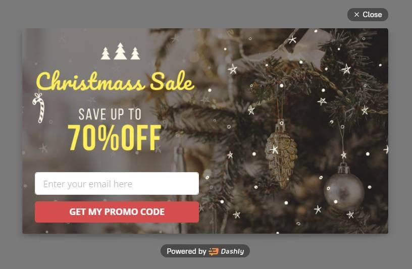 Client marketing christmas website ideas
