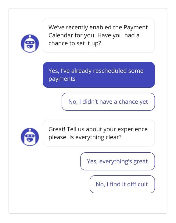 Leadbot collects feedback from beta testers