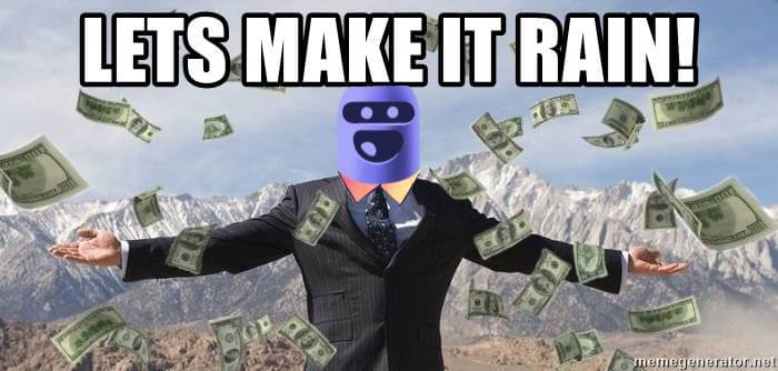 How to make money with bot