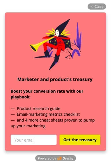 Our lead magnet for marketers and product marketers