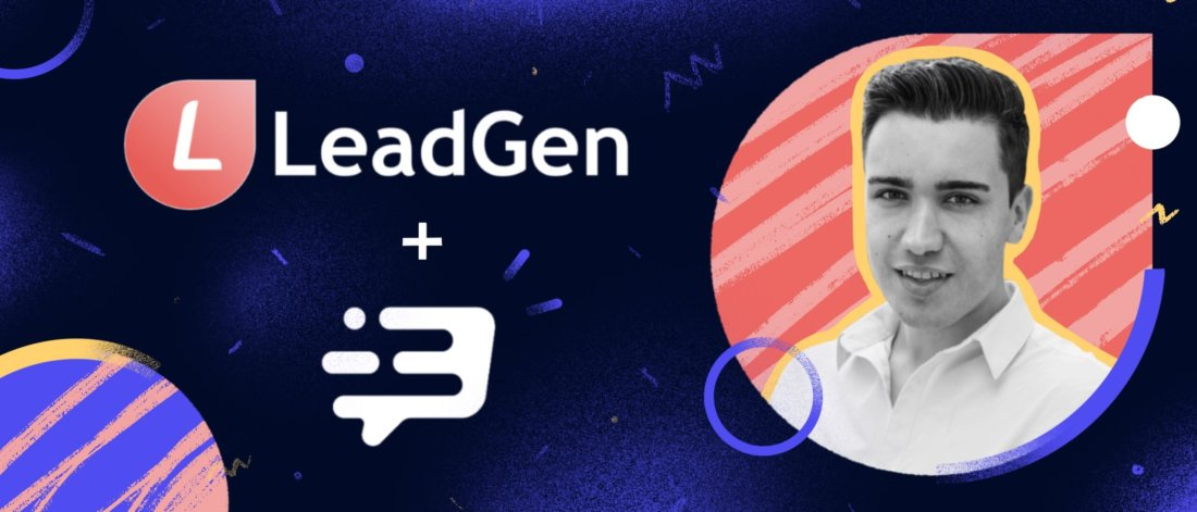 How LeadGen App grew sales by30% and improved support with Leadbot