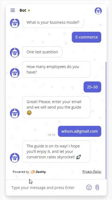 How to qualify leads with a chatbot
