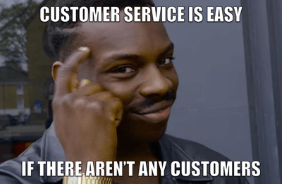 An old customer is worth ten new ones — they deserve proper treatment