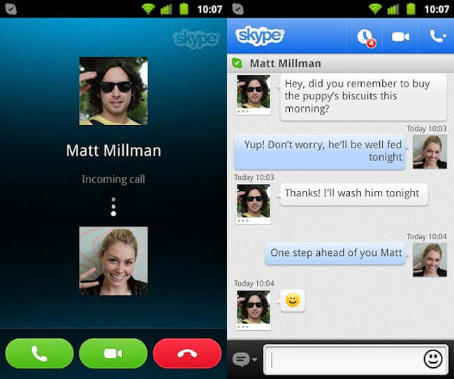 Best chat apps: Skype