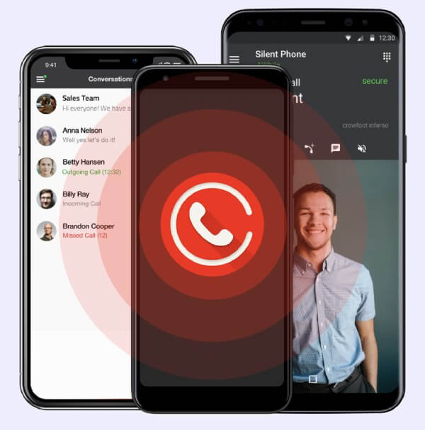 Cool messaging apps: Silent Phone