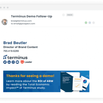abm marketing in email